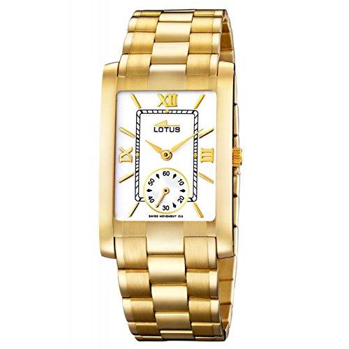 e72cbb3ac547 Lotus Gold 18 ktes 476 4  Amazon.co.uk  Watches