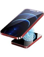 SUYING 15 W magnetisk trådlös powerbank för powerbank laddare för iPhone 12 12 pro max mini snabbladdande magnet externt batteri (10 000 mah, röd)