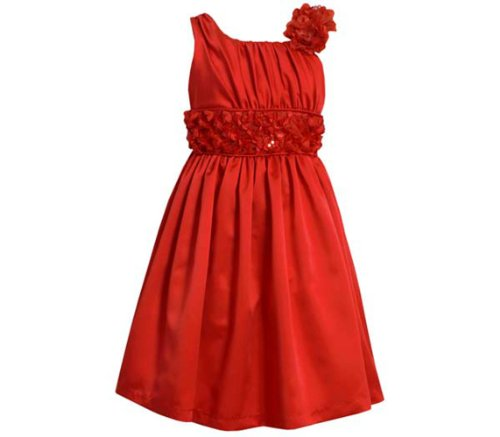 s Red Satin Sleeveless Draped Party Dress 10 (Draped Satin Dress)
