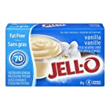 Jello Sugar Free & Fat Free Instant Vanilla Pudding 6 x 30g Packages