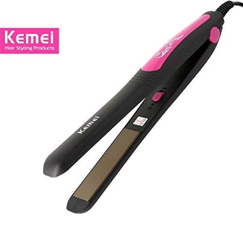 Kemei KM-328 Professional Hair Straightener, Styler (Pink or MutliColor)