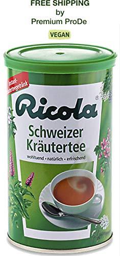 Instant Ricola Swiss herbal tea with 13 herbs - 200 g, Ricola/Switzerland