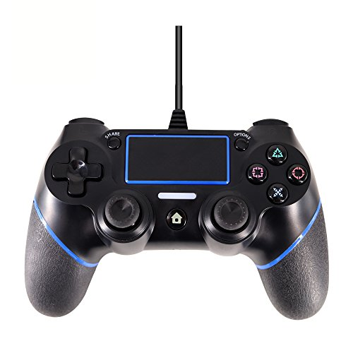 J&TOP PlayStation 4 Gamepad,Wired Controller for PlayStation 4 & PlayStation 3