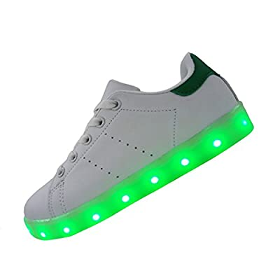 DAYOUT Led Shoes For Kids Boys Girls Fashion Luminous Sneakers