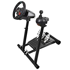 Racing Simulator Cockpit for PS3/4 XBOX Logitech G29 G920 PC        This racing simulator kit provides you a dynamic game racing capability and ultimate comfortable seating experience on playing games. Reinforced carbon steel tube, adj...