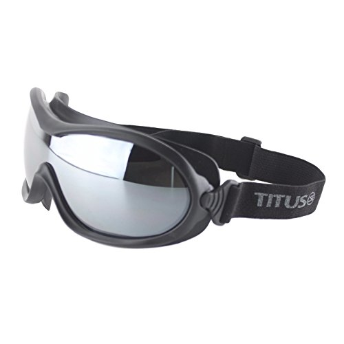 Titus G32 Sky Diving Snowboarding High Wind Goggles - Sports Riders Safety - Coupon Rage Sunglass