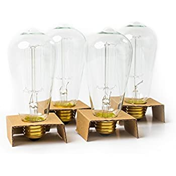 30w equal led filament edison bulb soft white dimmable