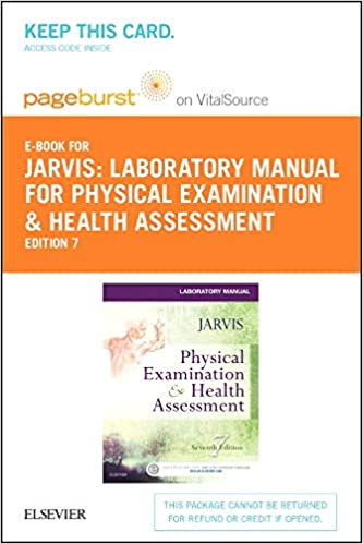 Laboratory Manual for Physical Examination & Health