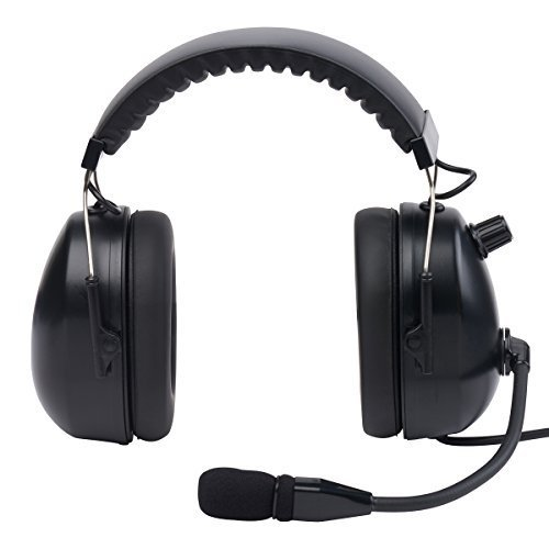 WICOM Aviation Headset - Black