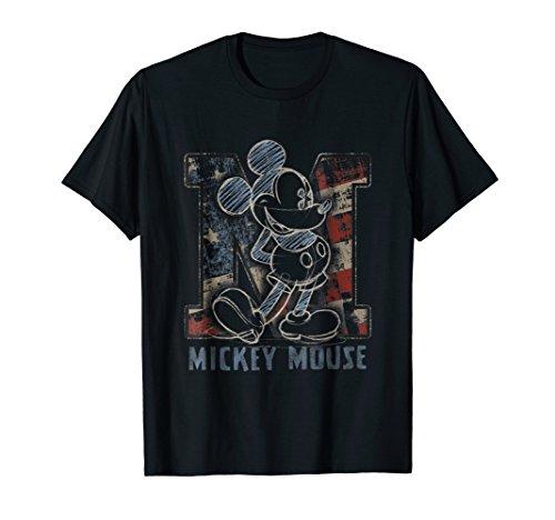 Disney Americana Mickey Sketch T-shirt