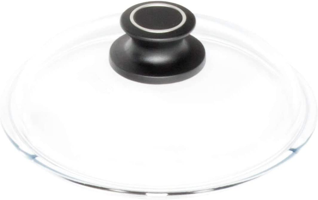 AMT 016-E Glass Lid Diameter 16 cm with English Sleeve Multi Color
