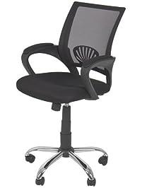 ergonomic mesh computer office desk task midback task chair wmetal base new