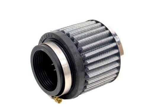 K&N Round Straight Universal Air Filter - 62-1480/Chrome