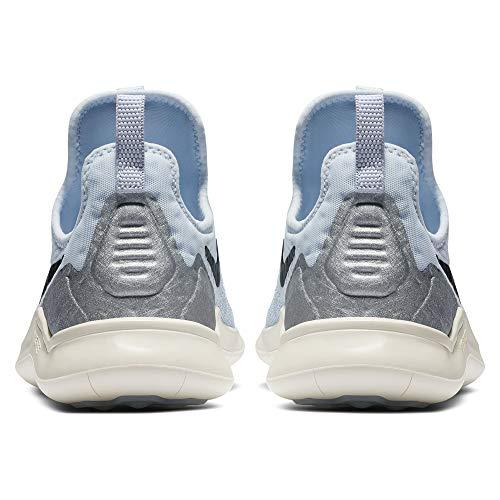 dames 8 Free Halfblauw Nike voor zeil metallic aluminium zwart Tr trainingsschoen qaxR4