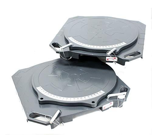 wheel alignment turntables plates - 3