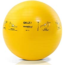 SKLZ Sport Performance Trainer Ball - Self-Guided Stability Ball (55 cm) (Pump Not Included)