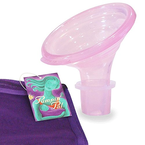 Pumpin' Pal Breast Pump Flanges Set Medium with Mesh Parts Bag for Medela, Hygeia, and Lansinoh, Sizes S, M, and L Pairs for Medela, Lansinoh, and Hygeia - This Set - Pump Flange