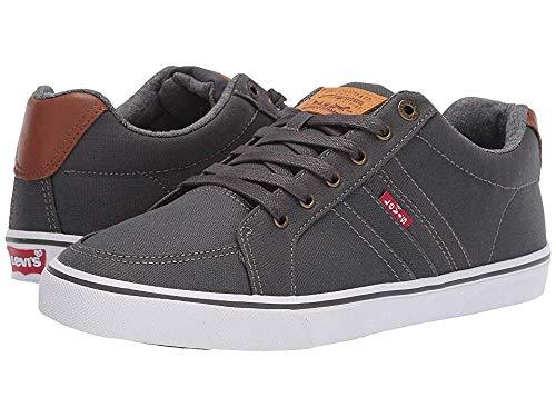 Levi's Mens Turner CT Sneaker,Charcoal,9