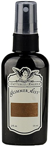 Tattered Angels 17864 Glimmer Mist Water Based Paint, Roll Top - Angels Spray Glitter Tattered
