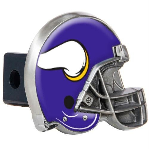 - Minnesota Vikings NFL Metal Helmet Trailer Hitch Cover
