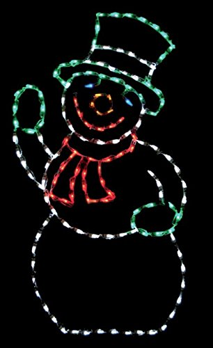Brite Ideas Decorating LED Snowman Display