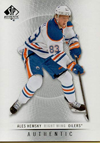 2012-13 SP Authentic #18 Ales Hemsky Oilers