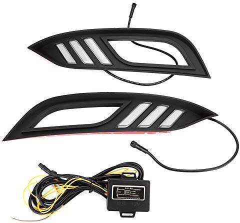 Qiilu Car 3 color Waterproof LED Daytime Running Light Turn Signal Left&Right Fit for K3 13-16 / Qiilu Car 3 color Waterproof LED Daytime Running Light Turn Signal Left&Right Fit for K3 13-16