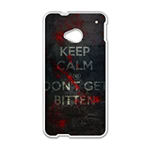 HTC One M7 Cell Phone Case White The Walking Dead 004 HIV6755169538119