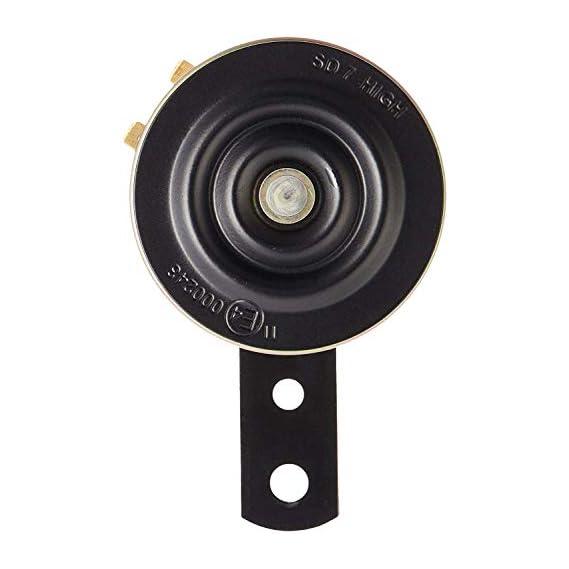 UNO MINDA 815020 K70 12V HIGH Tone Horn (Yellow)(360/440 Hz, 105dB, 70mm Dia)