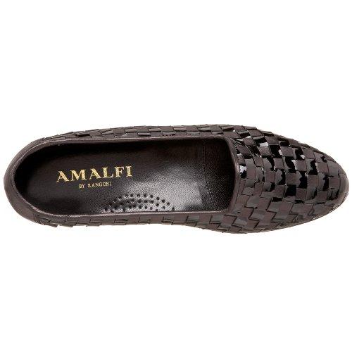 Amalfi By Rangoni Kvinnor Oleg Vävt Platt Svart Nappa / Black Patent