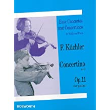 Concertino in G, Op. 11 (1st and 3rd position): Easy Concertos and Concertinos Series for Violin and Piano