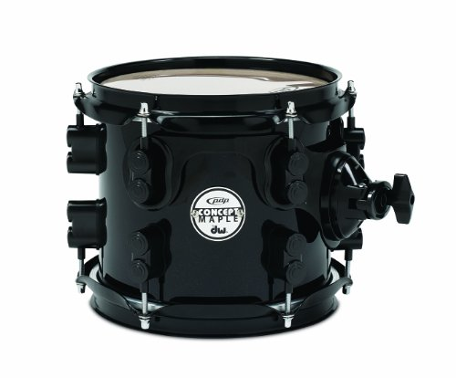 pacific-drums-pdcm0708stpb-8-inch-drum-set-tom-tom-pearlescent-black