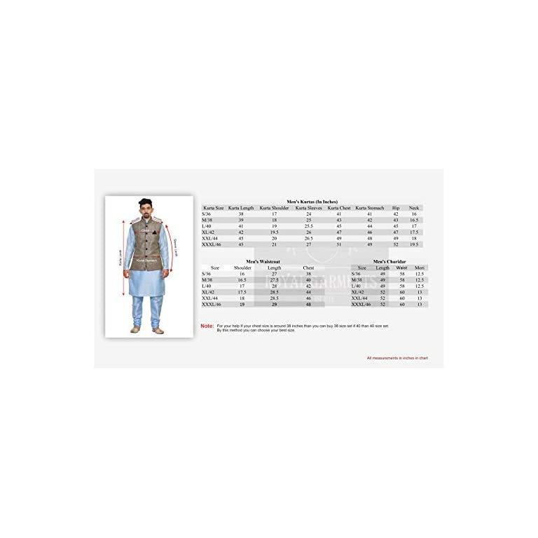 41sUiezZw%2BL. SS768  - Mag Men's silk Kurta Churidhar With Waistcoat