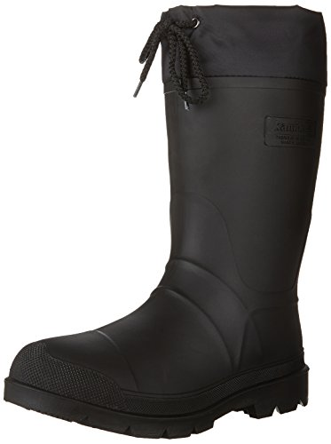 Kamik Men's Hunter-M Snow Boot, Black, 12 M US