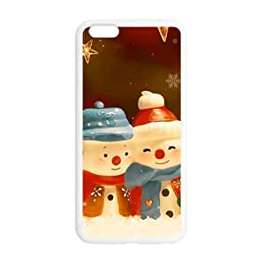Christmas lovely snow man Phone Case for Iphone 6