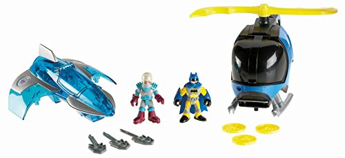 Fisher-Price Imaginext DC Super Friends Exclusive 2Pack BATCOPTER MR. FREEZE JET