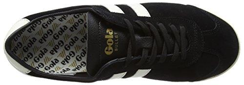 Gola Kvinna Bullet Mocka Mode Sneaker Svart / Off-white