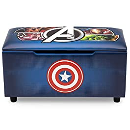 Upholstered Storage Bench for Kids | Perfect for Bedrooms/Playrooms/Living Rooms