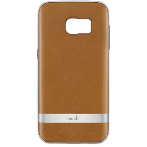 big sale 7232f 46263 Moshi iGlaze Napa Case for Samsung Galaxy S7 Vegan Leather - Beige
