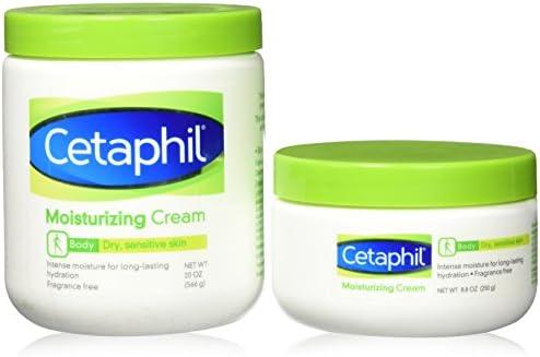 Cetaphil Cream - 2 Pack - 28.8 Oz Total - 20 Oz Jar and 8.8 Oz Jar