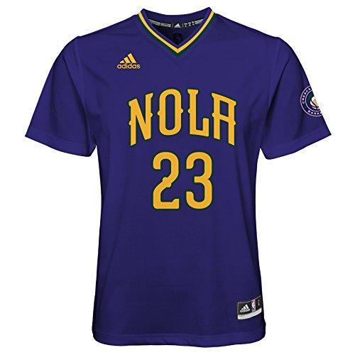 NBA Youth 8-20 New Orleans Pelicans Davis Replica Pride Jersey-Ravens Purple-S(8)