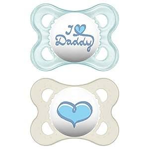 Amazon.com: MAM amor y afecto ortodoncia chupete, I Love ...