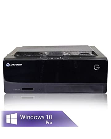 Ankermann SSD Office Mini PC Intel 4X 1.50GHz Intel Q1900B-ITX 4x2, 0Ghz HD Graphics 8GB RAM 240GB SSD Windows 10 Pro Ankermann-PC
