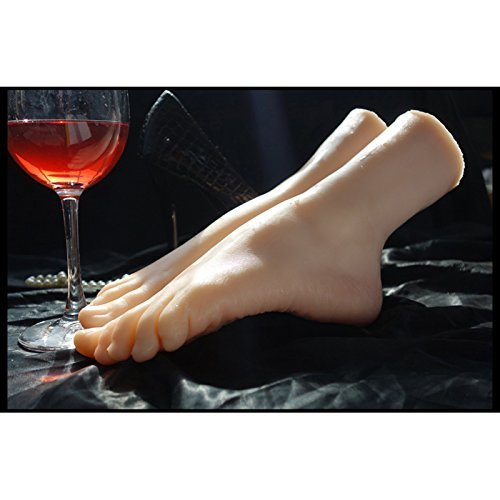Simulation Girls Ballerina Dancer Gymnast Foot Silicone Feet Model Mannequin by MWIMBEIWM