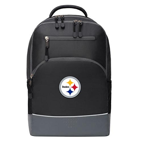 Officially Licensed NFL Pittsburgh Steelers Alliance Backpack, Black