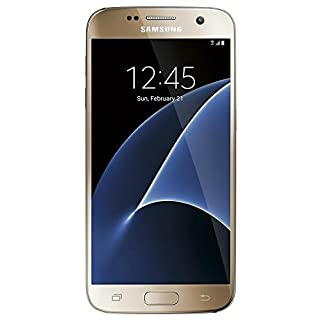 Samsung Galaxy S7 G930A 32GB Gold Platinum - Unlocked GSM (Renewed)