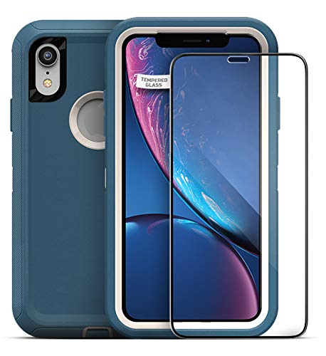Magglass Tempered Glass Screen Protector for Otterbox Defender Series - iPhone XR 6.1 (Case is NOT Included)