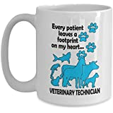 Vet Tech Week Gift, Funny Veterinary Technician Coffee Mug - Veterinary Technician Gift, Tea Cup/Decal
