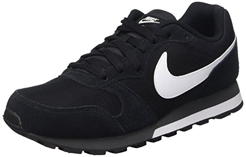 Nike MD Runner 2, Herren Sneakers, Schwarz (Black/White-Anthracite 010), 45 EU (10 Herren UK)