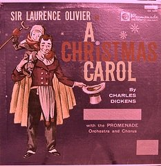 Sir Laurence Olivier in A Christmas Carol By Charles - Malls Rockford In Il